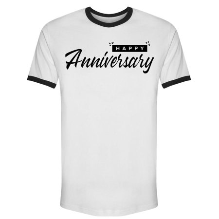 Happy Font Anniversary Tee Men's -Image by Shutterstock