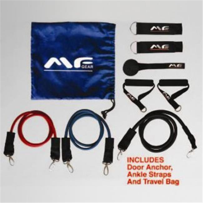 Maximum Fitness MFGL3B Resistance Bands - 3 Piece