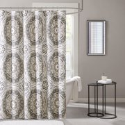 "Home Essence Nepal Printed Shower Curtain 72""W x 72""L"