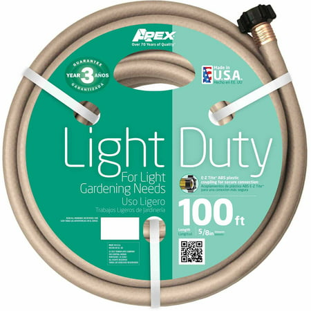 "Teknor Apex Light-Duty 8400 5/8"" x 100' Garden Hose"