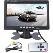 "7"" TFT LCD Backlight Color HD Mirror Monitor for Car Reverse Rear View Backup Camera Car DVD Serveillance Camera"