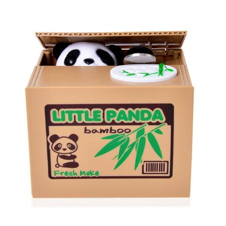 Money Coin Piggy Bank Mischievous Little Panda Party Favor Gifts