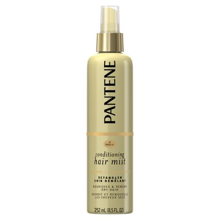 Pantene Pro-V Nutrient Boost Moisture Conditioning Mist Nourishing and Renewing Detangler, 8.5 fl oz - Light Detangler Spray