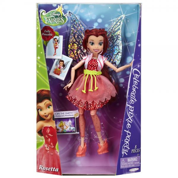 Disney Fairies Pixie Party Rosetta 9 Fashion Doll