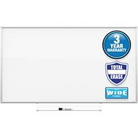 Quartet 39 x 22 Inch Silhouette Total Erase Dry-Erase Whiteboard