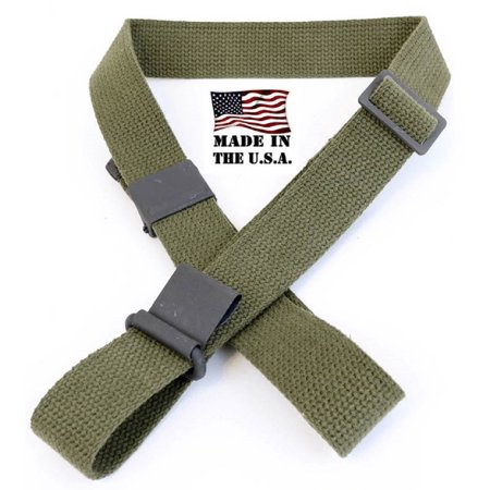 AmmoGarand Cotton Web Rifle Sling for M1 Garand M1A M14 USGI Pattern