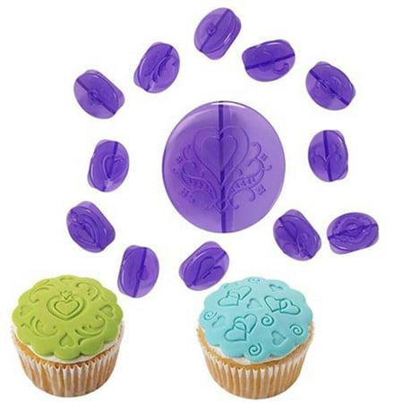 Wilton Cupcake Decorating Set, Hearts, 14 pc. - Decorating Cupcakes