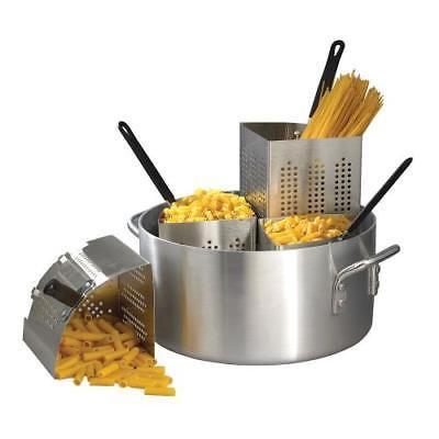 Winco APS-20 Pasta Cooker, 20 quart pot, 14