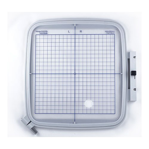 """Janome SQ20B - 7.9"""" x 7.9"""" Embroidery Hoop fits MC500E, 400E and More"""