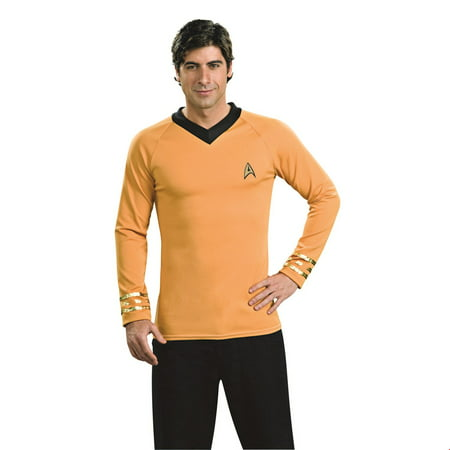 Men's Deluxe Captain Kirk Costume - Star Trek Captain Kirk Uniform