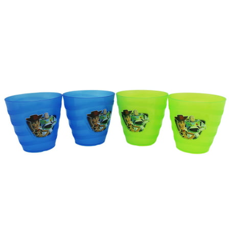 Disney Pixar's Toy Story Green and Blue Small Size Kids Cup Set - Toy Story Cup