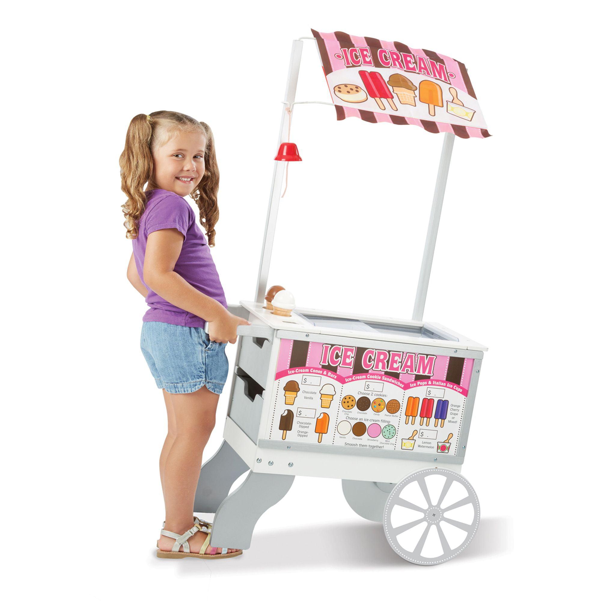 Melissa Doug Snacks Sweets Food Cart Walmart Com
