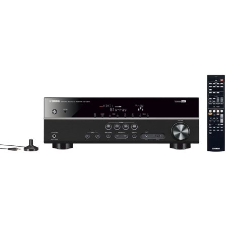 Yamaha RX-V377 5.1-Channel A/V Home Theater Receiver Audio Video (Yamaha Receiver Audio)