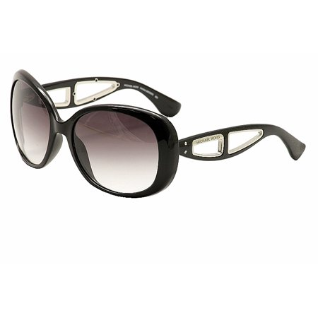 6f1a05be98e Michael Kors - Michael Kors Sanibel MKS664 MKS 664 001 Black Round  Sunglasses 57mm - Walmart.com