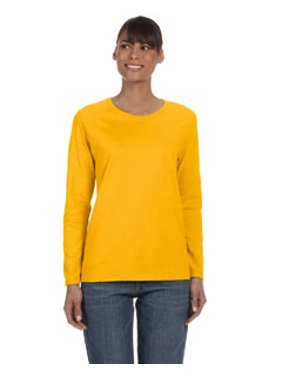 Gildan T-Shirts - Long Sleeve Heavy Cotton Women's Long Sleeve T-Shirt