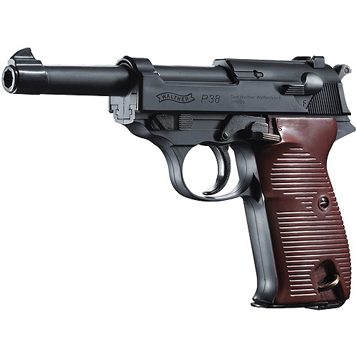 Walther P38 2252730 Semi Automatic BB Air Pistol 400fps 0.17 by Umarex USA