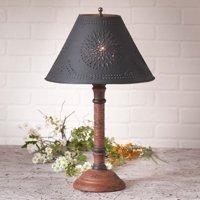 Gatlin Lamp in Hartford Pumpkin with Shade