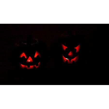 Halloween Raffle Poster (LAMINATED POSTER Pumpkins Jack-o-lanterns Halloween Pumpkin Fall Poster Print 24 x)