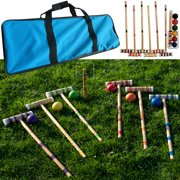 Croquet Set Fun Vintage Lawn Recreation By Hey Play Image 2 Of 5