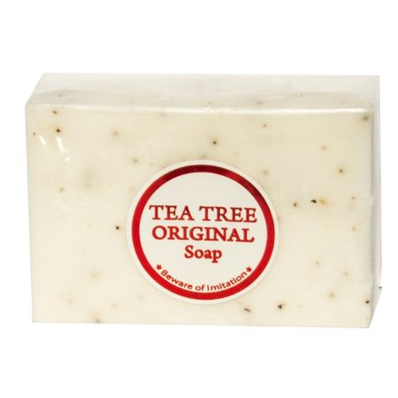 Original Tea Tree Soap - Antiseptic/Whitening Soap Bar for Acne Prone Skin W/ Kojic Acid and Vitamin (Best Vitamins For Acne Prone Skin)