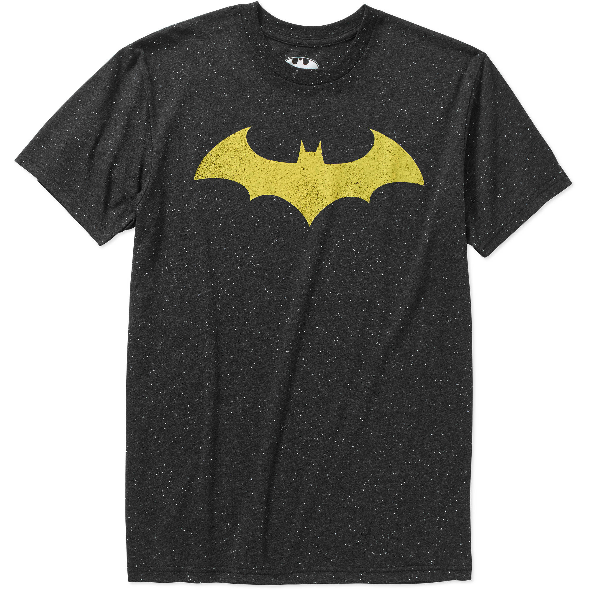 Batman Logo Men's Burnout Graphic Tee