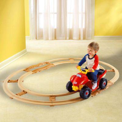 Mattel Fisher-Price Power Wheels Kawasaki Lil' Quad with ...