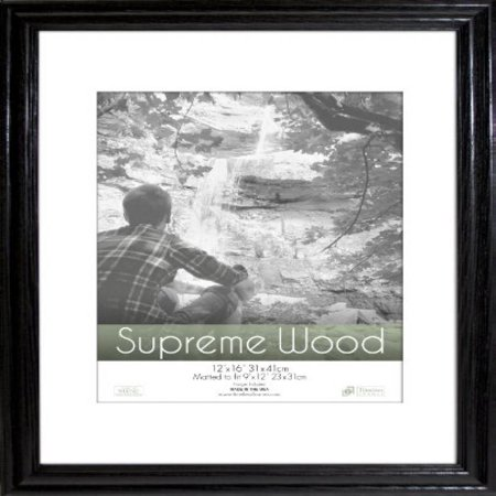 Timeless Frames 12x16 Inch Fits 9x12 Inch Photo Supreme Solid Wood ...