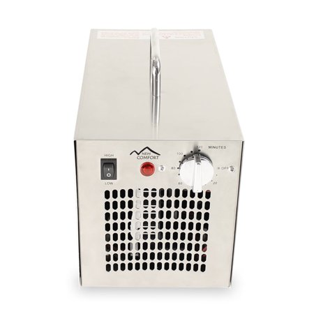 New Comfort Stainless Steel Commercial Ozone Generator UV Ai