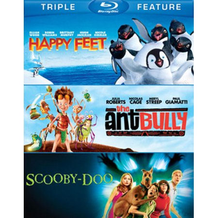 Happy Feet / Ant Bully / Scooby-Doo: Movie (Blu-ray) (Happy Halloween Full Movies)