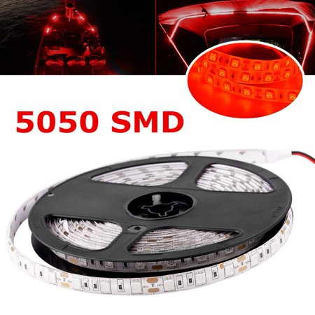16.4ft Waterproof 5050 SMD 300 LED Boat Deck Bow Pontoon Navigation Light