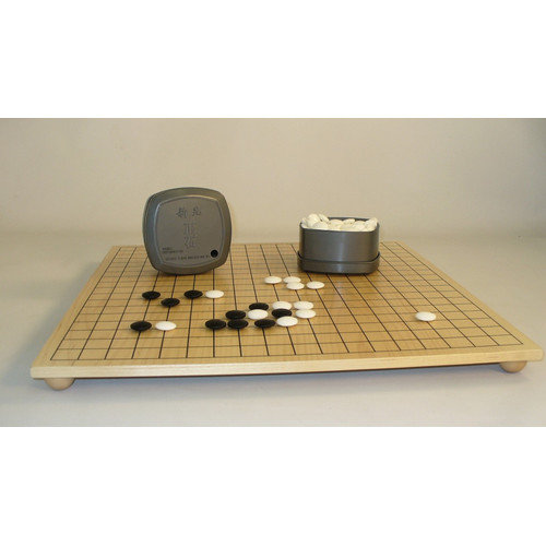 Play All Day Games Go Chess Board and Stones