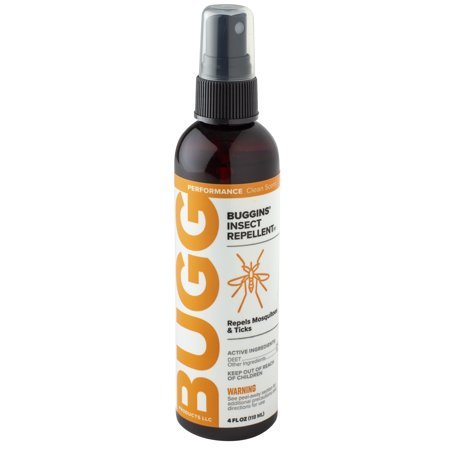 BUGGINS Performance insect repellent 25% DEET Clean