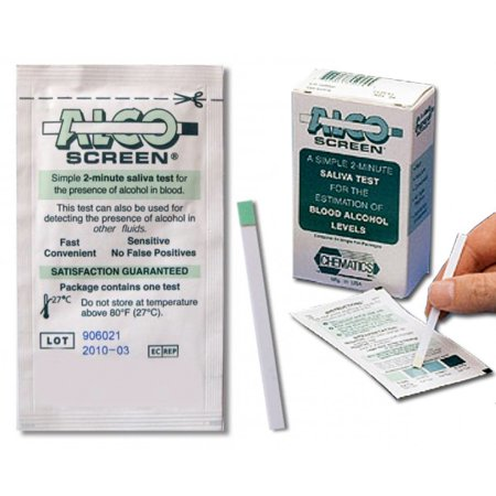 Alco-Screen Alcohol Test Strips - 24 Strips/Box, 12 boxes/case (Alcohol Testing Strips)