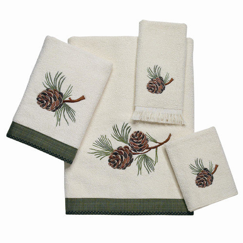Avanti Linens Pine Creek 4 Piece Towel Set