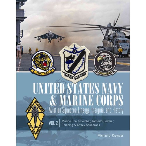 United States Navy and Marine Corps Aviation Squadron Lineage, Insignia, and History: Marine Scout-bomber, Torpedo-bomber, Bombing & Attack Squadrons