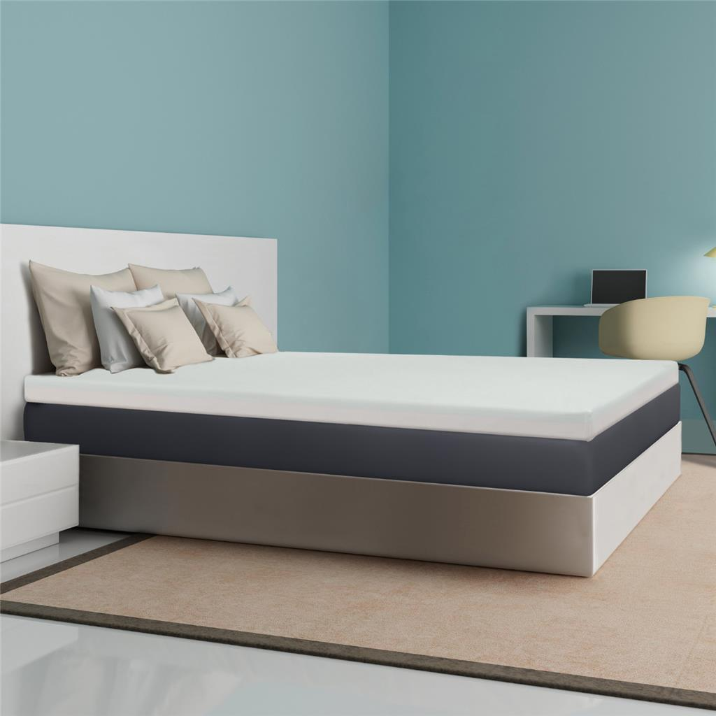 "Best Price Mattress® 4"" Memory Foam Mattress Topper – Multiple Sizes"