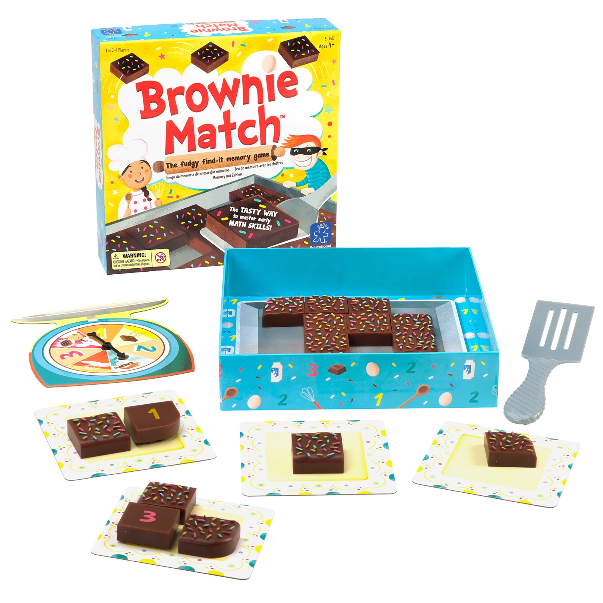 Educational Insights Brownie Match Game - image 1 of 5