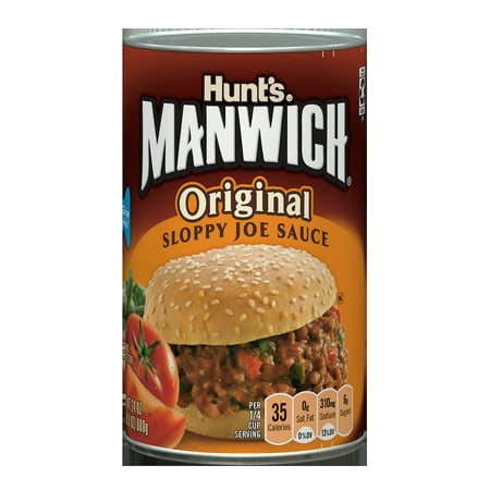 (3 Pack) Manwich Original Sloppy Joe Sauce, 24 oz