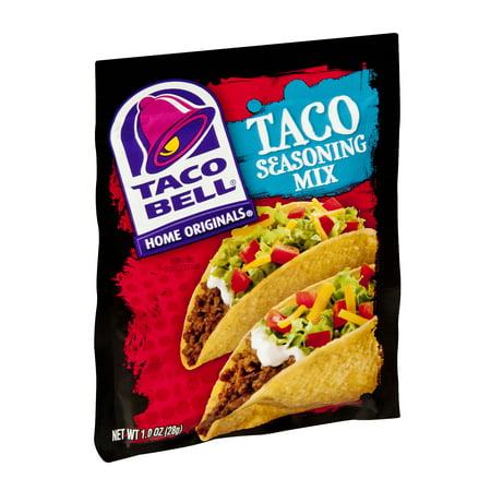 Taco Bell Taco Seasoning Mix Original, 1.0 OZ