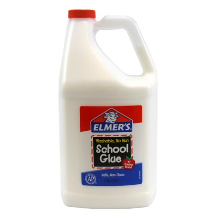 Elmer's Liquid School Glue, Washable, 1 Gallon - Fake Mustache Glue