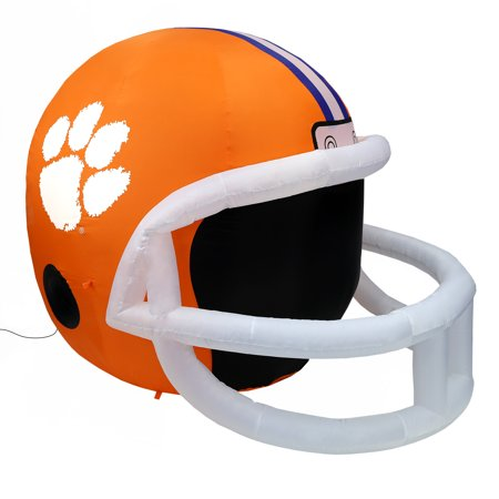 NCAA Clemson Tigers Team Inflatable Lawn Helmet, Orange, One Size (Inflatable Helmet)