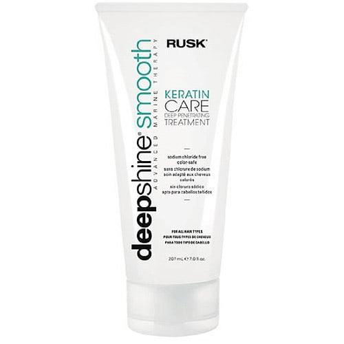 Rusk Deepshine Smooth Keratin Care Hair Treatment, 7 fl oz