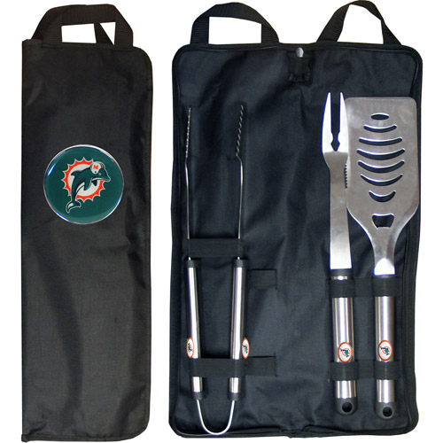 Siskiyou FBQB060 Dolphins BBQ Set with Bag