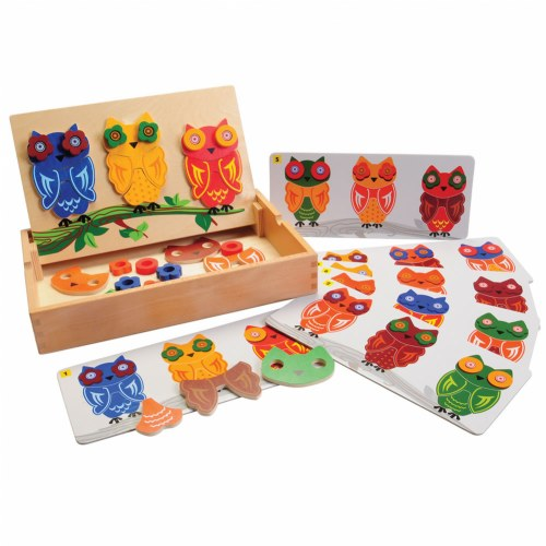 Mix & Match Magnetic Owls