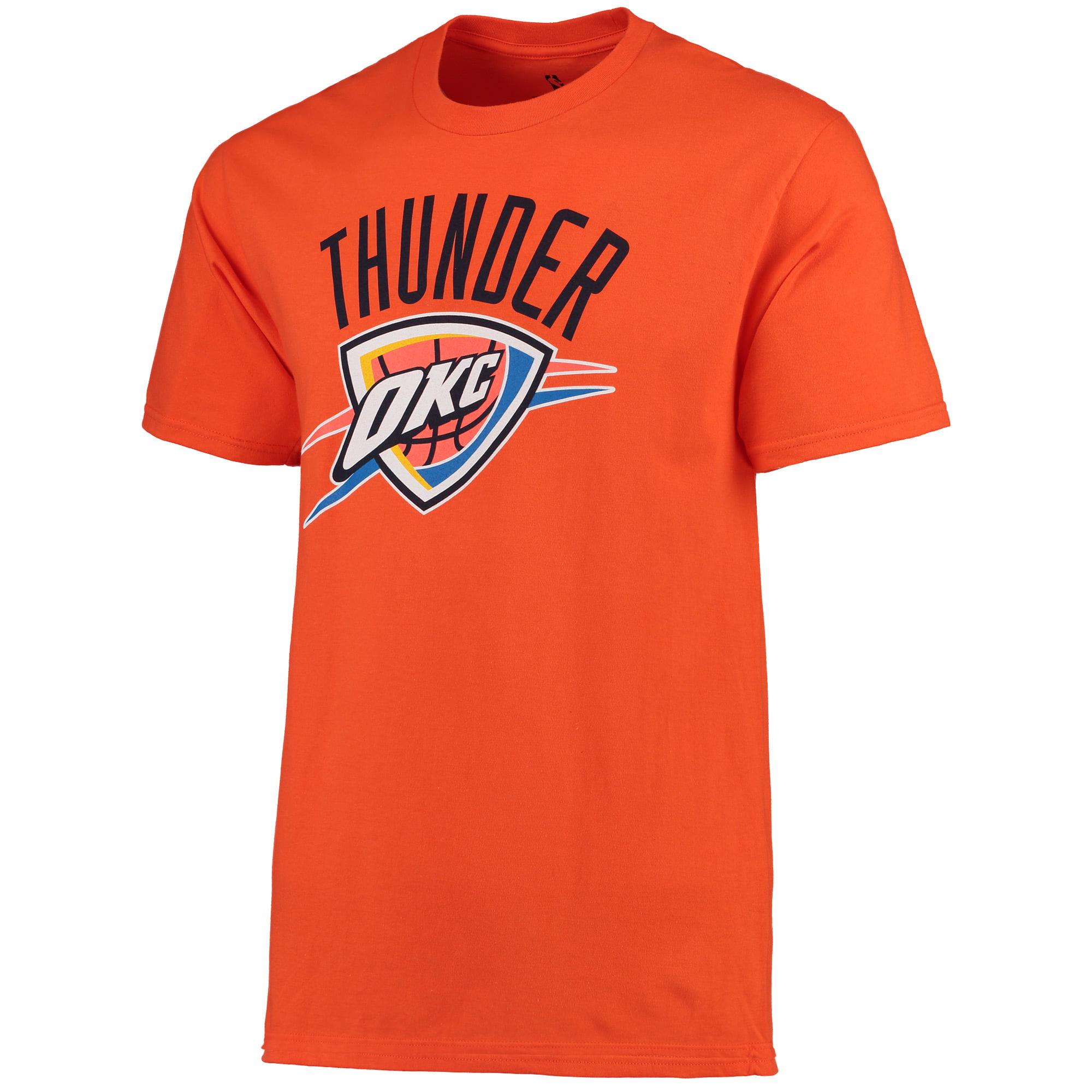 Oklahoma City Thunder Primary Logo T-Shirt - Orange