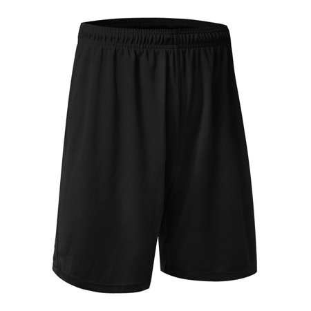 Men Casual Fitness Basketball Shorts Running Cycling Gym Sports Short Pants (Coolmax Cycle Shorts)