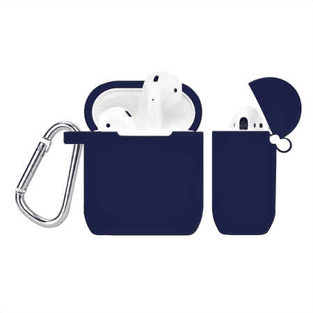 AirPods Case Cover - Protective Silicone Cover and Skin for Apple AirPods Charging Case - Navy Blue AirPods Case Cover