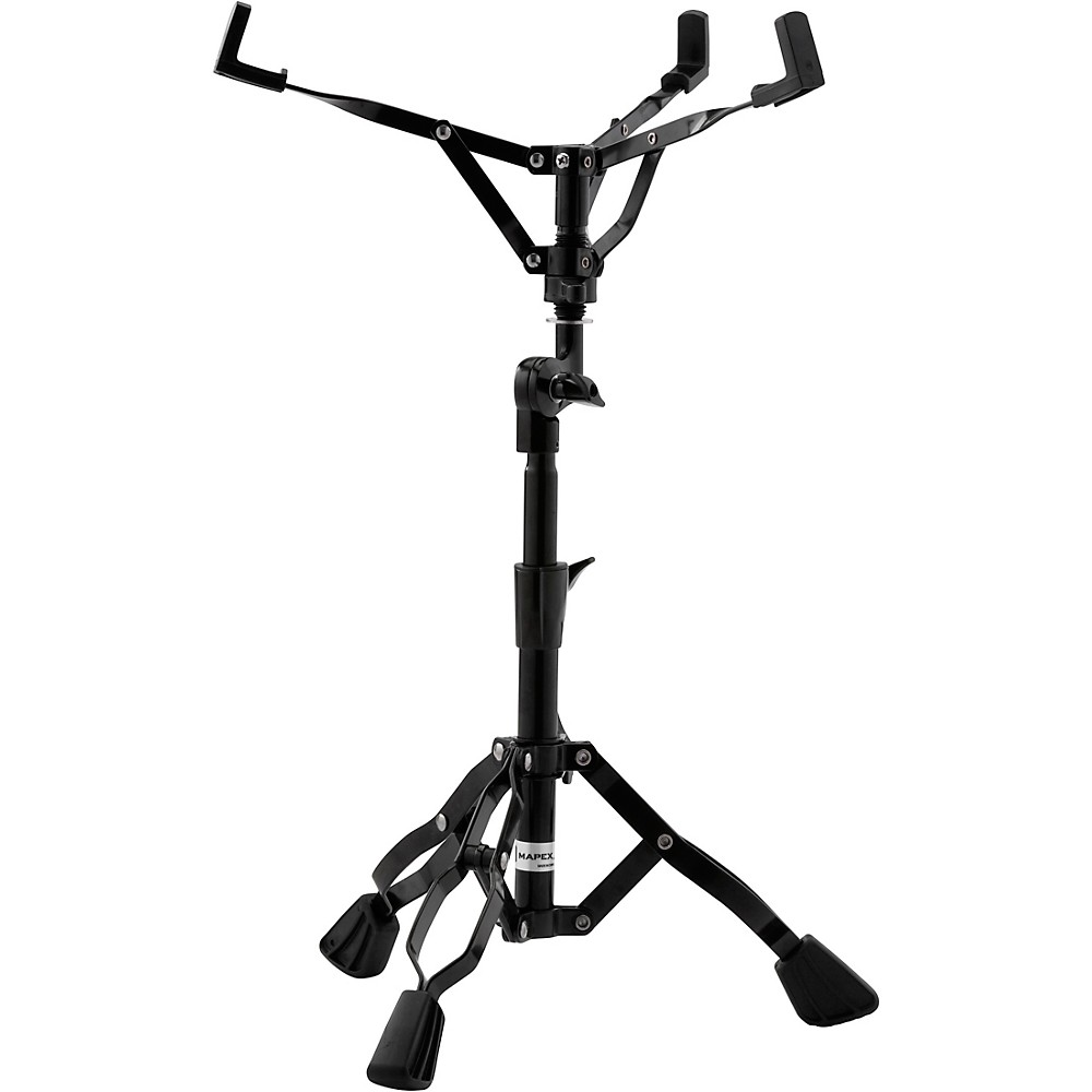 Mapex S400EB Storm Double Braced Snare Stand - Black Plated Finish