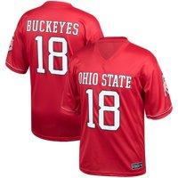 Men's Scarlet Ohio State Buckeyes Kick Off Jersey