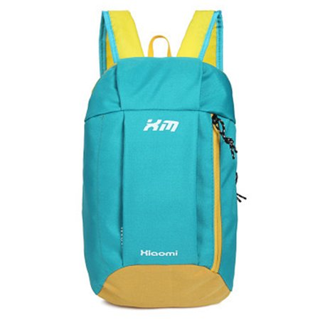Ultra-Light Polyester Waterproof 10L Backpack Rucksack for Travelling Camping School Color:Blue